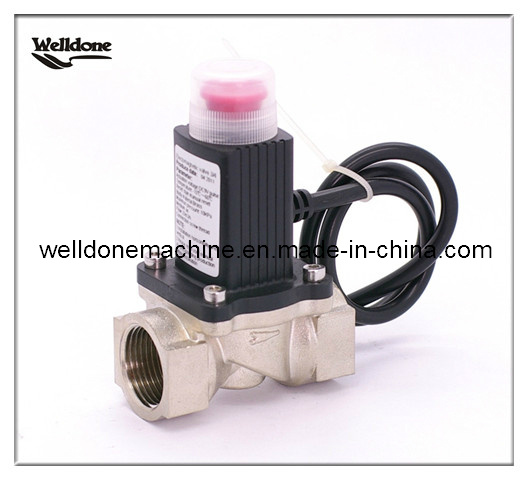 Natural Gas Solenoid Valve with Manual Override