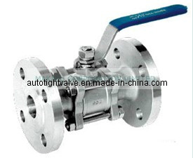 3PC Ball Valve Flange Type