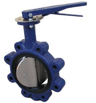 Lug Type Wcb Butterfly Valves (One Piece without Pin)