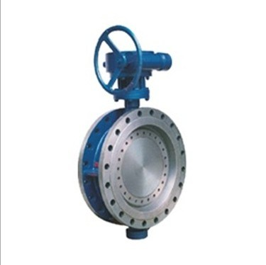 D343h-10c C. P. R. V Series Flanged Type Resillent Metal-to-Metal PTFE Lin Butterfly Valve