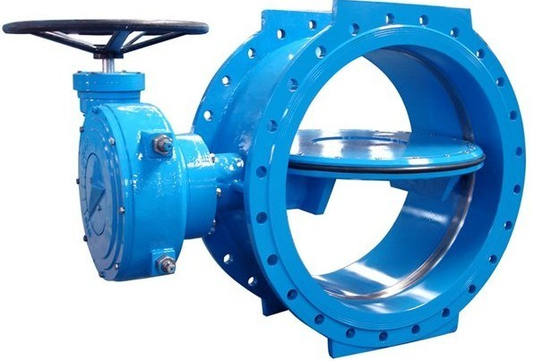 En593 Standard Soft Seal Double Eccectric Butterfly Valve
