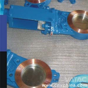 2''~48'' ANSI 150# Cast Iron Gg25 Wafer Knife Gate Valve