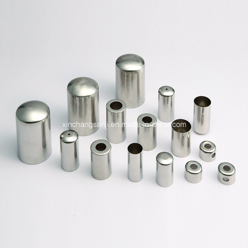 Stainless Steel Deep Drawing Sleeve For Electronic