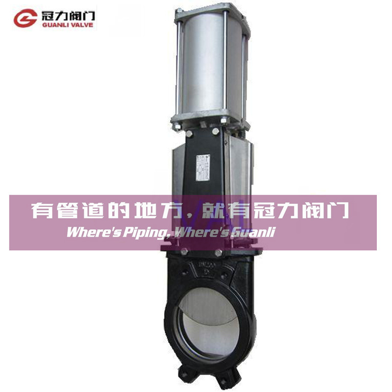 Bi-Directional Water Treatment Pulp Knife Gate Valve