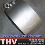 Forged Steel Duo Plate Check Valve