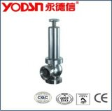 Sanitary Stainless Steel Safety Valve (ISO9001: 2008, CE, TUV Certified)
