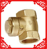 Swing Check Valve with Brass Colour