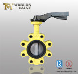 Al Handle Lever Lug Type Butterfly Valve