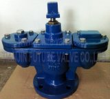 DIN Cast Iron/Di Double Ball Automatic Air Valve Flanged End