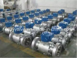 3PCS Trunnion Forged Steel High Pressure Ball Valve