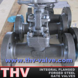 Integral Flanged Forged Steel Gate Valve