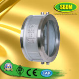 Stainless Steel Double Disc Wafter Type Check Valve