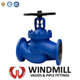 Cast Steel Bellow Seal Globe Valve Dn200 Pn25