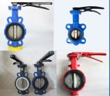 Aluminum Lever PTFE Seated Wafer Butterfly Valve