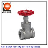 Stainless Steel Screw Gate Valve with Screw End