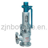 CE Flanged High Temperature Pressure Relief Valve (580Degr.)