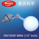 Mini Ball 1/2 Inch Small Plastic Mechanical Water Tank Float Valve