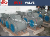API 6D Forged/ Cast Flange Trunnion Ball Valve
