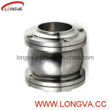 Sanitary 3-PC Flange End Check Valve