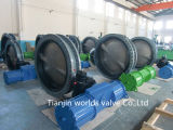 Big Size Double Flanged Butterfly Valve (D41X-10/16)