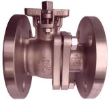 Germany Standard DIN Pn16-Pn40 Flanged Ball Valve (ACH-Q41-64E-102)