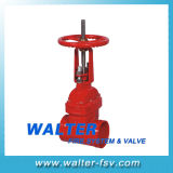 Cast Iron Grooved Gate Valve for Fire-Fighting