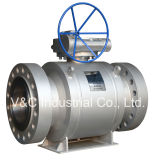 Big Size API 6D Full Port Trunnion Mounted Ball Valve