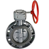 PVC Butterfly Valve for Water DIN ANSI JIS Standard DN80-DN300