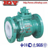 Forged Steel Fluorine Lined Ball Valve