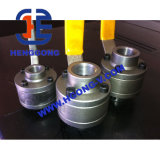 A105 Thread 3PC Forged Steel Ball Valve