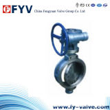 API 609 Manual Variable Eccentric Butterfly Valve with Gear