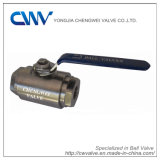 2PC Forged Steel Ball Valve with Metal to Metal Seat