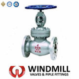 API Cast Steel Flanged End Globe Valve Bolted Bonnet Wcb