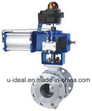 Light Industry Pneumatic O Type Ball Control Valves