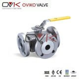 T Type Forged Trunnion 3-Way Ball Valve