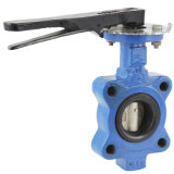 Cast Iron/Ductile Iron Soft Seat Lug Butterfly Valve