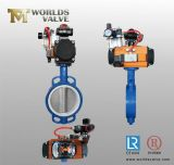 Wafer Type Butterfly Valve with Pneumatic Actuator (D671X-10/16)