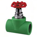 PPR Anti-Bacterial Fittings Stop Valve for Water Supply