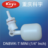 Dn8wk-T Mini 1/4 Inch Mini Plastic Float Valve for Water Purifier