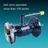 Steel 37.0 Lever Operated Fully Welded Flanged Ball Valve