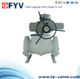 API6d Top-Entry Ball Valve with Electric Actuator