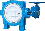 Awwa Flanged Double Eccentric Butterfly Valve