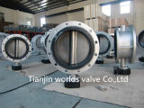 CF8m Double Flanged Butterfly Valve (D41X-10/16)