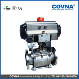 Stainless Steel Pneumatic Vacuum Ball Valve