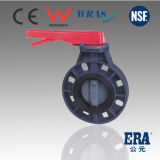 PVC Butterfly Valve for Industral and Commercial Use