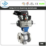 Pneumatic Regulating Valve Ball Valve with V Type