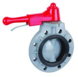 Butterfly Valve/CPVC Hand Wheel Type Butterfly Valve
