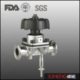 Stainless Steel FDA Certified Diaphragm Valve with Drain (JN-DV1005)