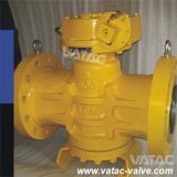 Electric/Pneumatic Operated Lubricated Eccentric Plug Valve