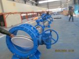 Flange Type Rubber Sealed Butterfly Valve
